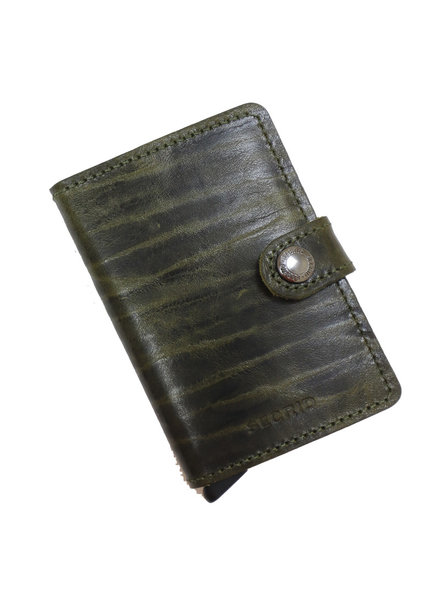 Secrid Dutch Martin Olive Mini Wallet