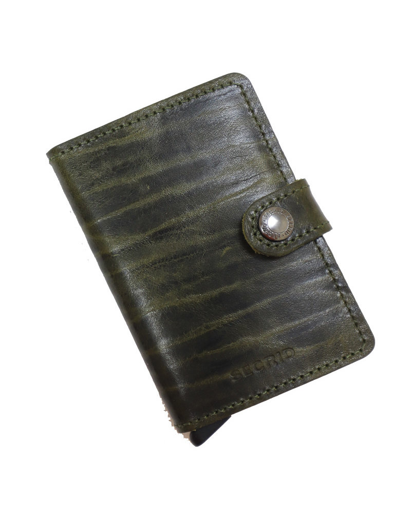 Secrid Dutch Martin Olive Mini Wallet