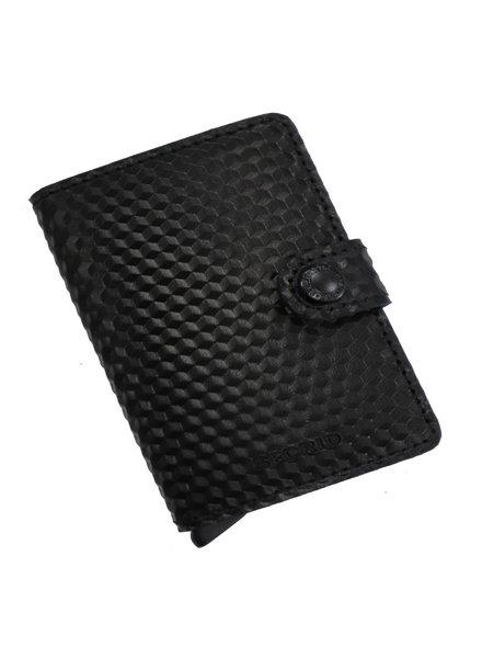 Secrid Cubic Black-Blue Mini Wallet