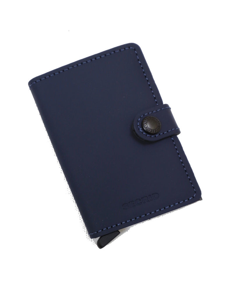 Secrid Matte Night Blue Mini Wallet