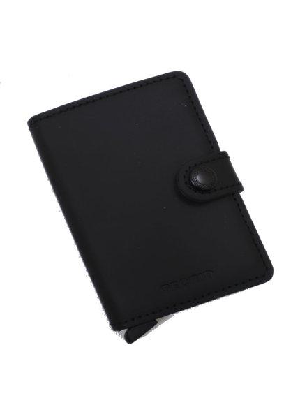 Secrid Secrid Matte Black Mini Wallet