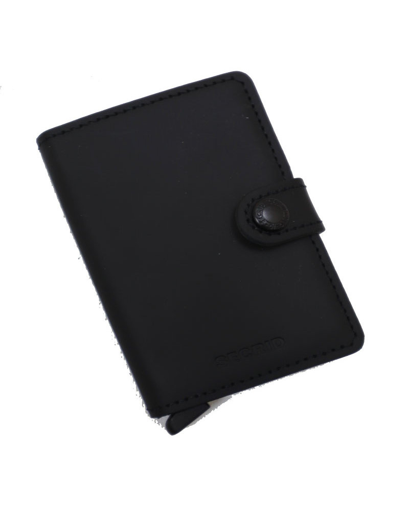 Secrid Matte Black Mini Wallet