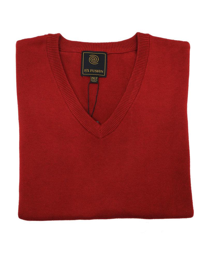 F/X Fusion F/X Fusion Red V-Neck Vest
