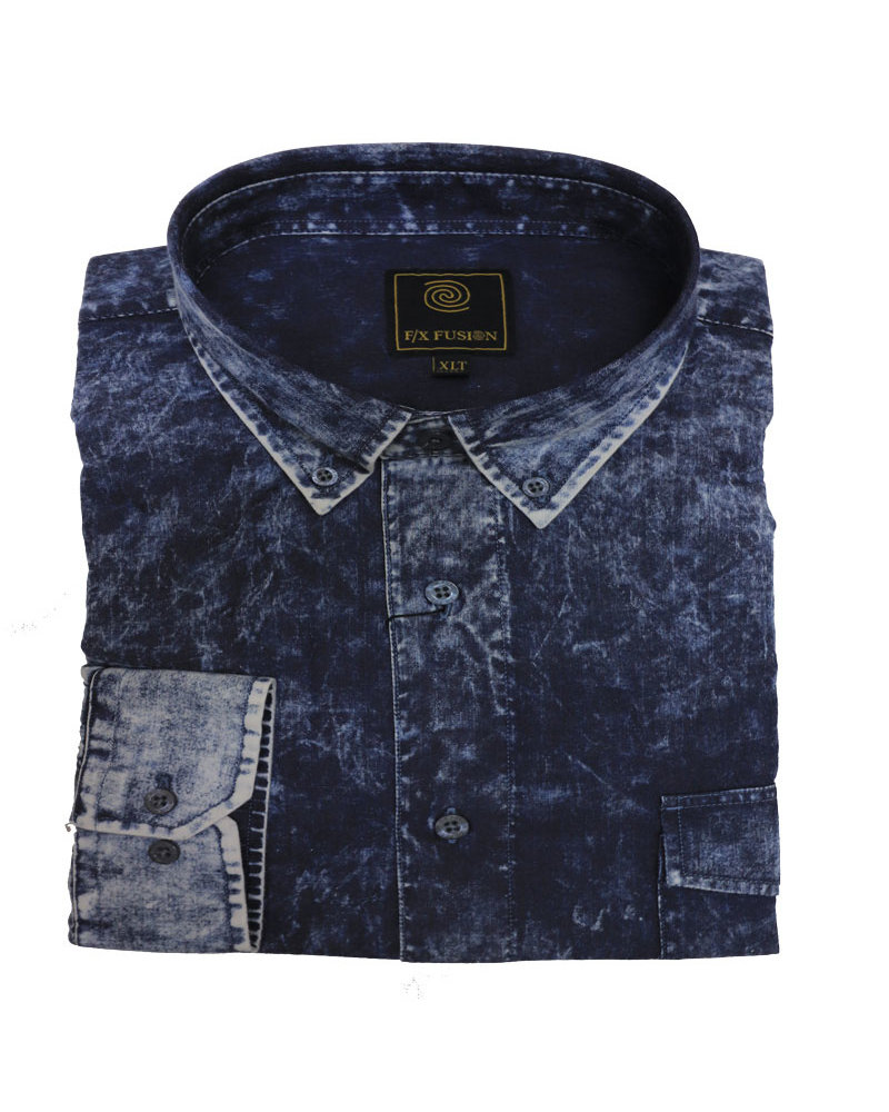 F/X Fusion F/X Fusion LS Washed Cotton-DN