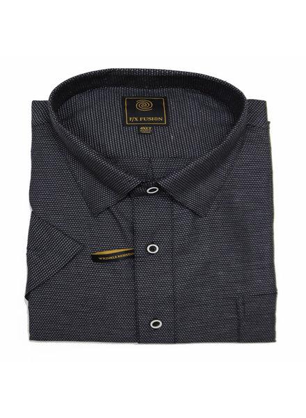 F/X Fusion F/X Fusion SS Black Print Shirt