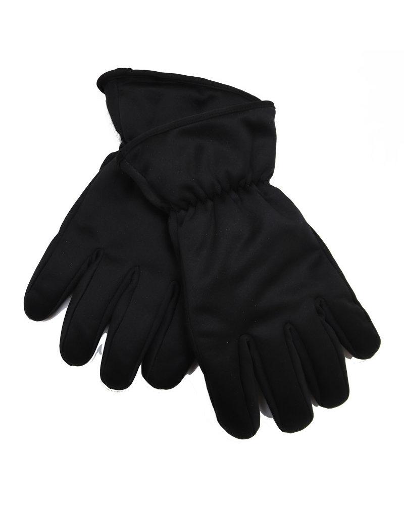 Atlas Black Ski Glove