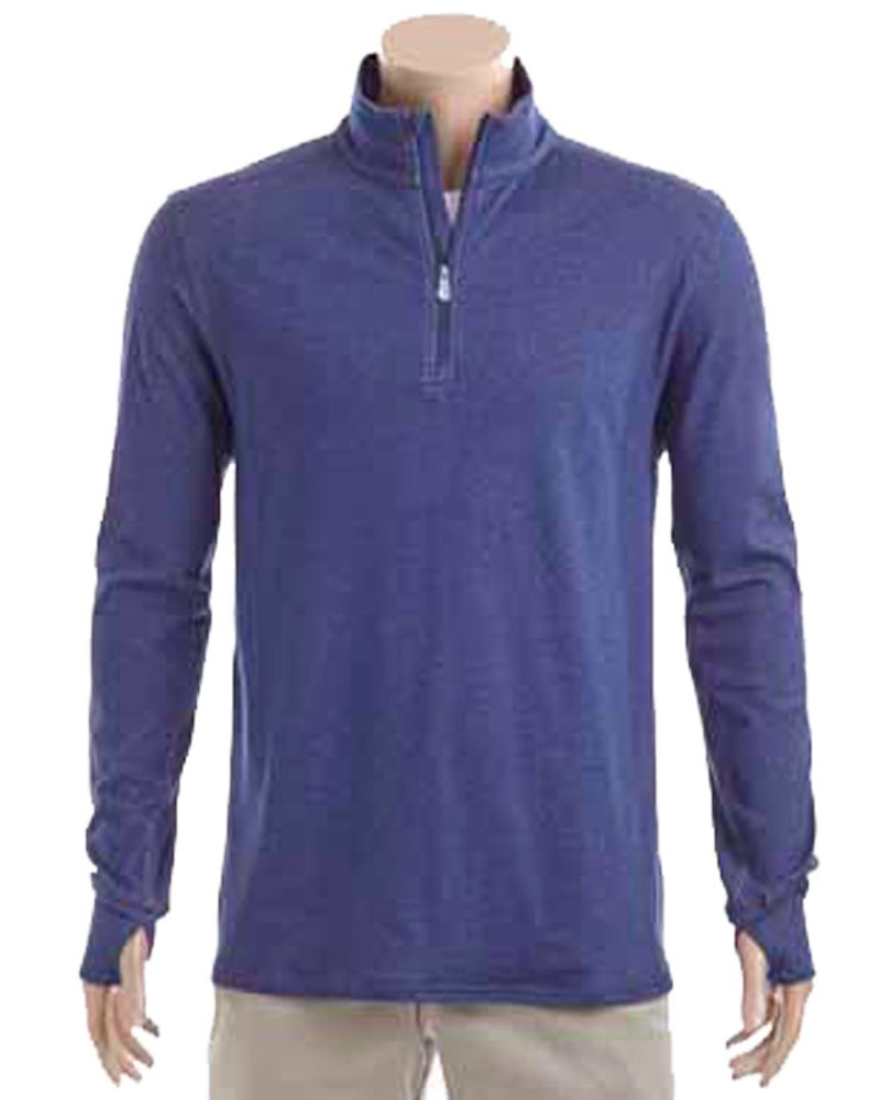 Tommy Bahama Tommy Bahama Palm Valley 1/2 Zip-Island Navy