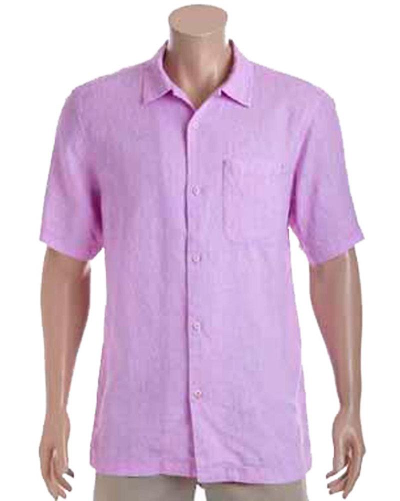 Tommy Bahama Tommy Bahama Grape Mist Sea Glass Camp Shirt