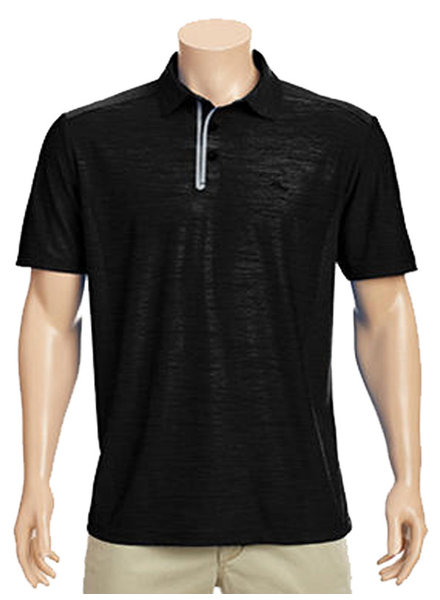 Tommy Bahama Tommy Bahama Palm Coast Black Polo