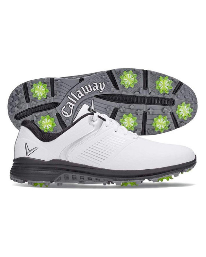 Callaway Callaway Solana TRX White Spiked Golf Shoes