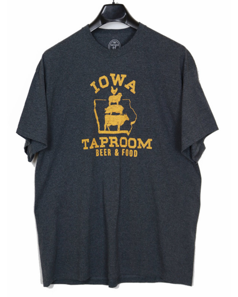 Twin Forks Trading Company Des Moines Iowa Tap Room Tee