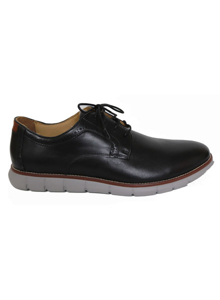Johnston Murphy Johnston Murphy Black Holden Plain Toe