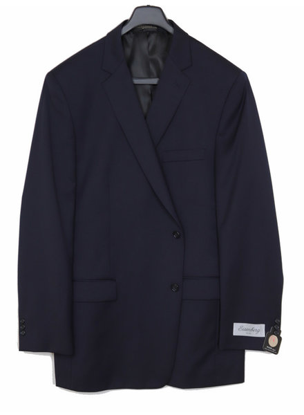 Eisenberg Solid Navy Suit Separate Coat