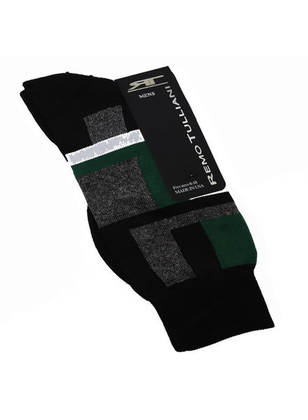 Remo Tulliani Remo Tulliani Sioux Socks-Black/Green/White