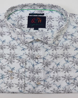 John Lennon John Lennon LS White Music Notes Shirt