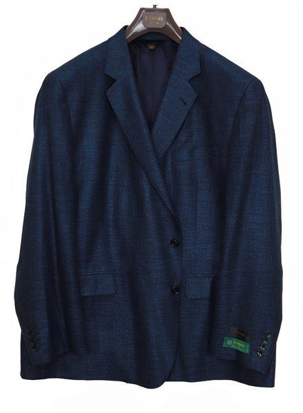 Baroni Solid Dark Blue Sportcoat