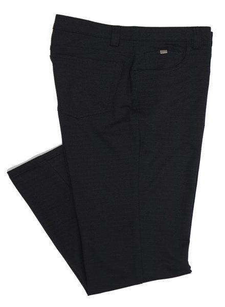 Bertini Bertini Bryce Pin Dot Black Knit Jeans