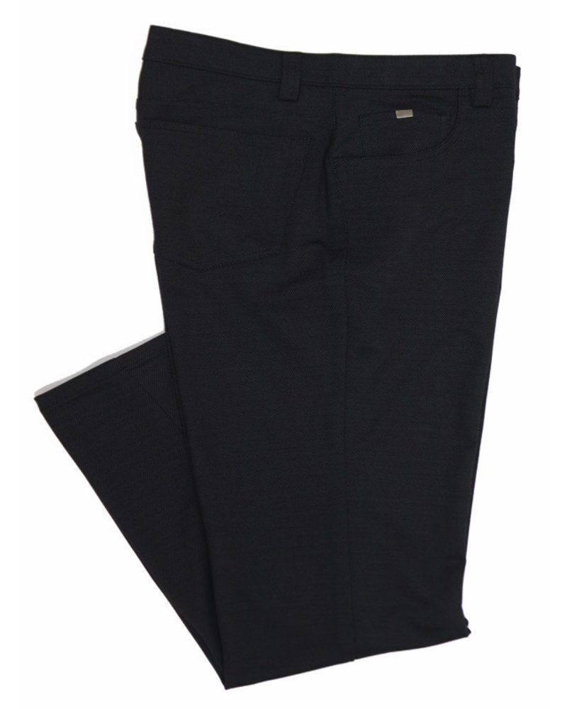 Bertini Bertini Bryce Pin Dot Black Knit Jeans