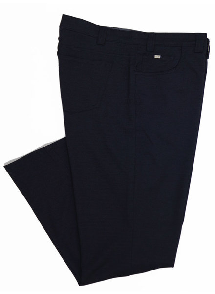 Bertini Bertini Bryce Pin Dot Navy Knit Jeans