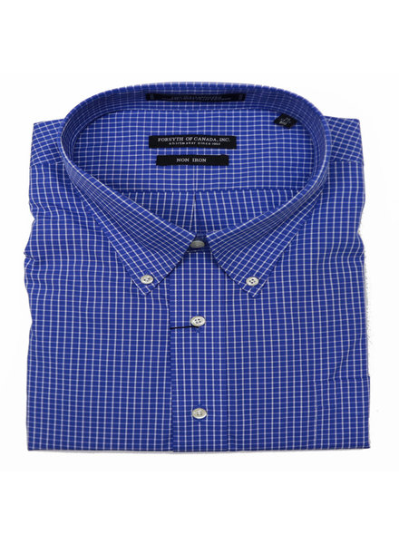Forsyth N/I BD Blue Check Shirt
