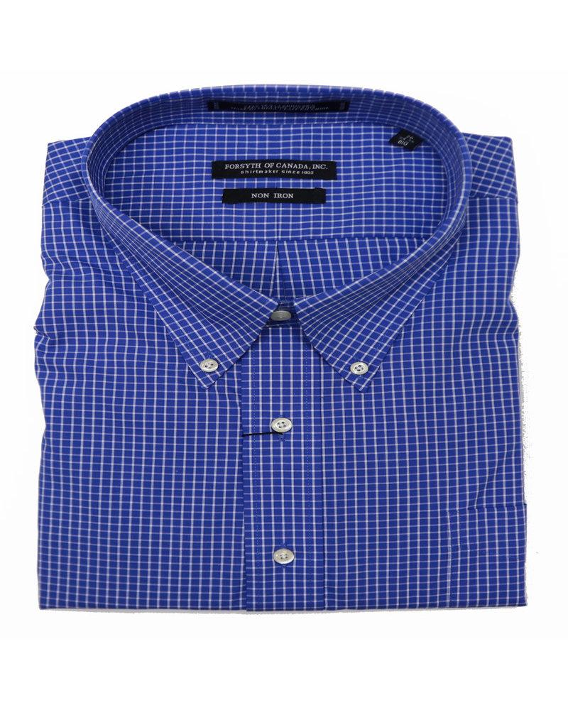 Forsyth N/I BD Blue Check Shirt