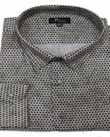 Jon Randall F/X Fusion JR LS Tan Dobby Textured Shirt