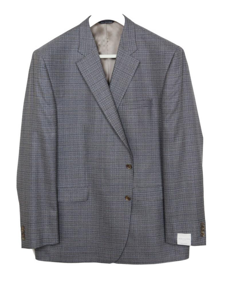 Jack Victor Jack Victor Grey/Tan Tic Sportcoat