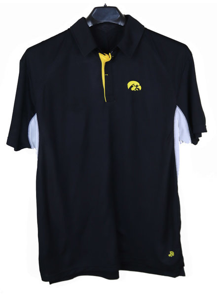 Authentic Brand Authentic Brand Iowa Hawkeye Polo