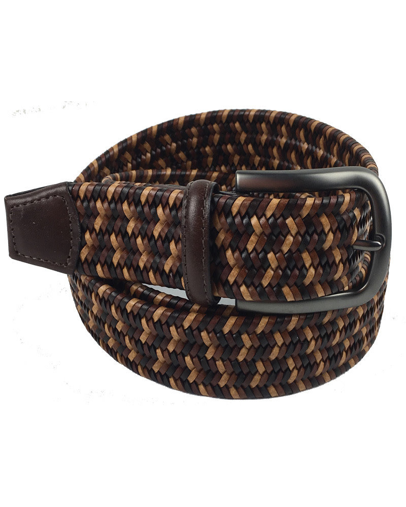 Torino Leather Torino Leather Mini Strand Braid Belt-B/T