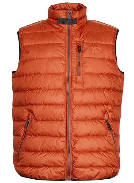 All Size North 56*4 Orange Puffer Vest