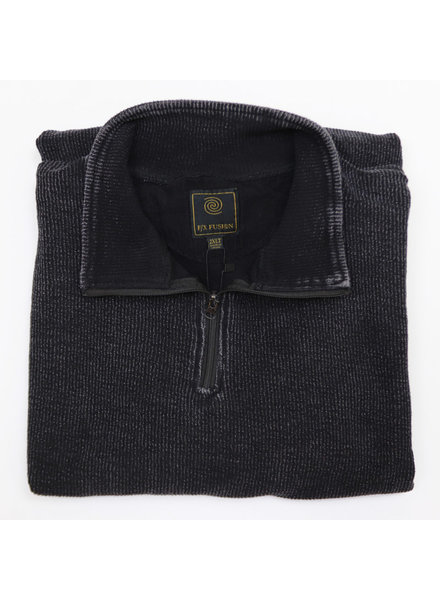 F/X Fusion F/X Fusion 1/4 Zip Black Enzyme Wash