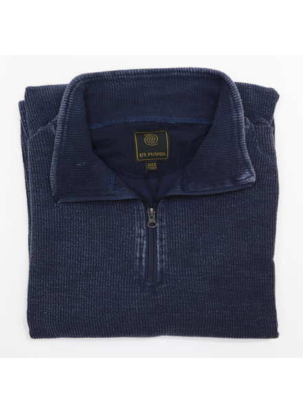 F/X Fusion F/X Fusion 1/4 Zip Navy Enzyme Wash