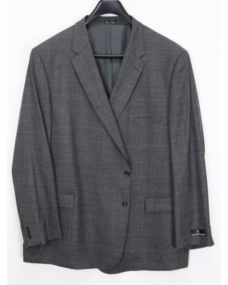 Harmony Clothes 100% Wool Charcoal Plaid