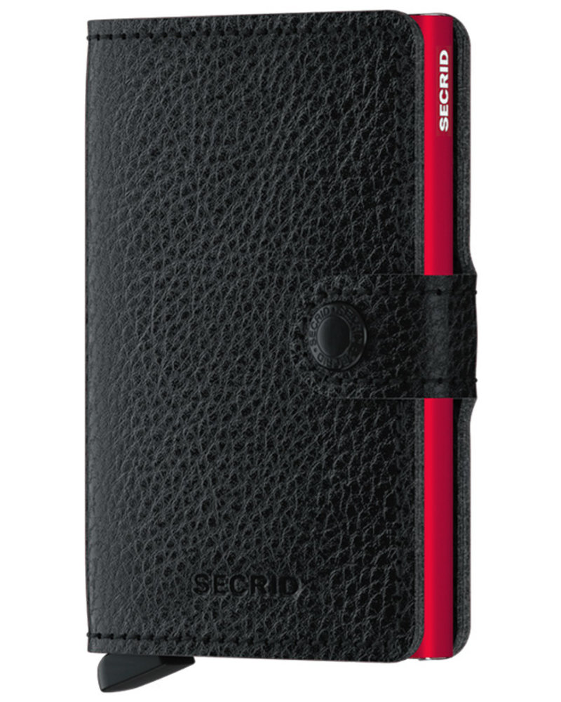 Secrid Veg Black Red Mini Wallet