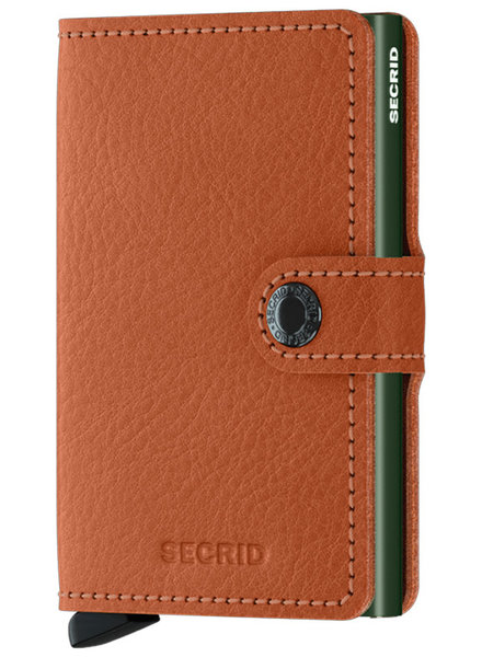 Secrid Veg Caramello Green Mini Wallet