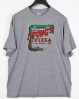 Twin Forks Trading Company Des Moines Fongs Pizza Tee-Gray