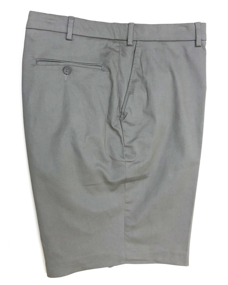Bertini Bertini  Lloyd Stretch Twill Short-Grey