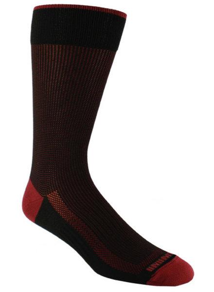 Remo Tulliani Remo Tulliani Dakota Black/Cardinal Socks