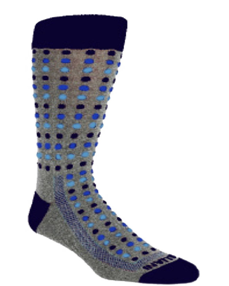 Remo Tulliani Remo Tulliani Seneca Charcoal  Socks