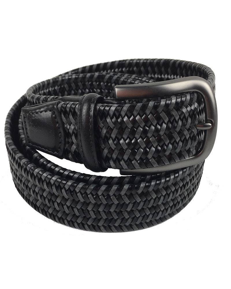 Torino Leather Torino Leather Mini Strand Braid Belt-B/G