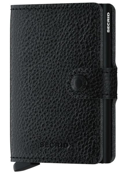 Secrid Veg Black-Black Mini Wallet