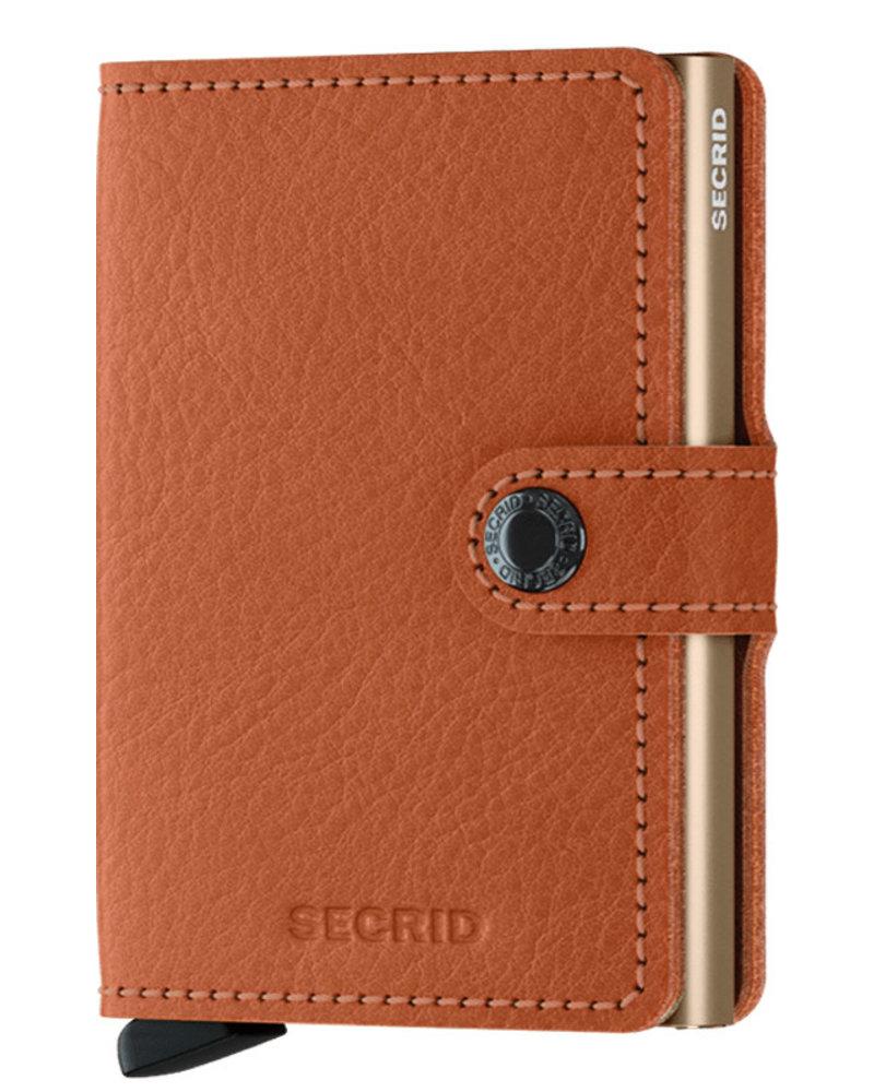 Secrid Veg Caramello Sand Mini Wallet