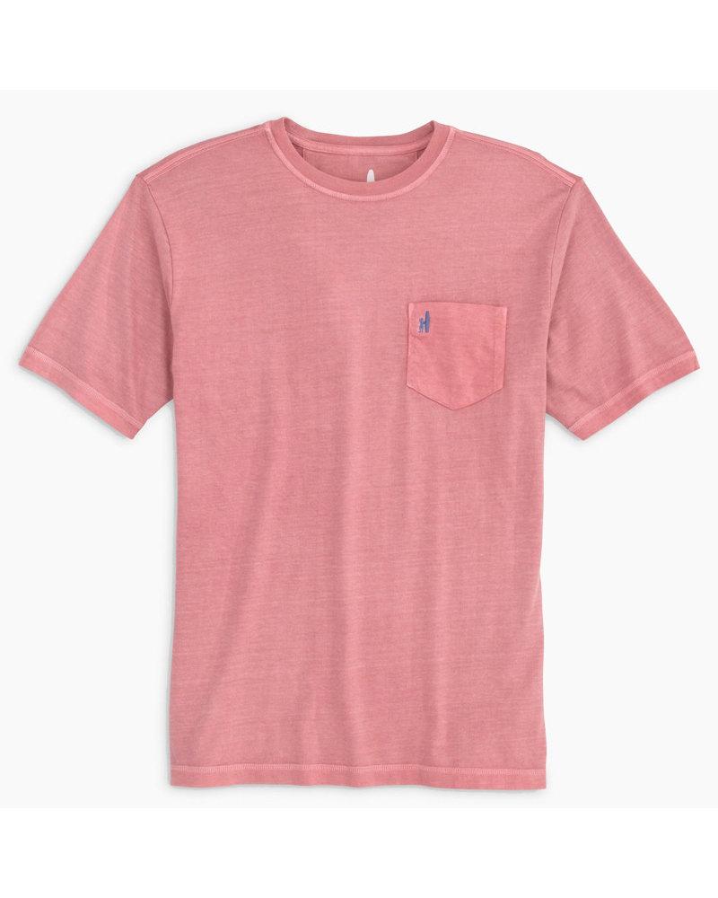 johnnie-O Johnnie-O Dale T-Shirt-Malibu Red