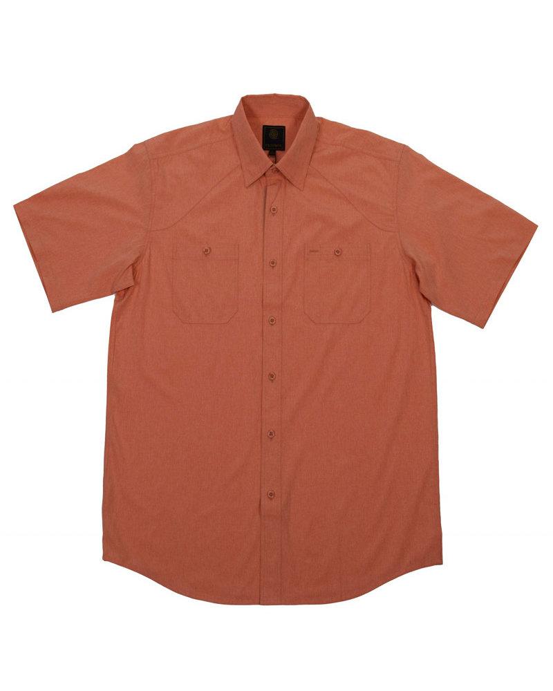 F/X Fusion F/X Fusion SS 4 Way Stretch Coral Shirt