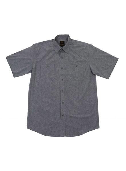 F/X Fusion F/X Fusion SS 4 Way Stretch Silver Shirt