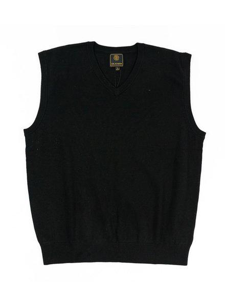 F/X Fusion F/X Fusion Black V-Neck Vest