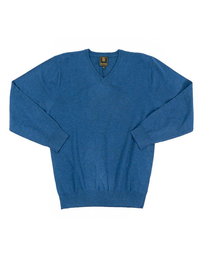F/X Fusion F/X Fusion Colbalt LS V-Neck Sweater