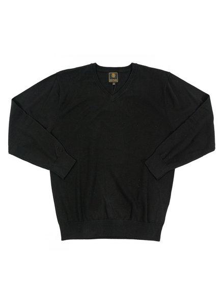 F/X Fusion F/X Fusion Black LS V-Neck Sweater