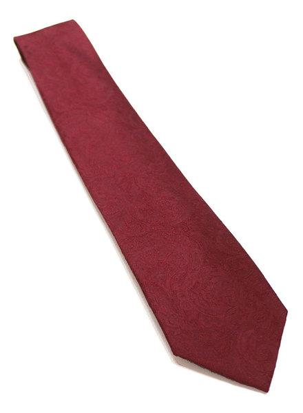 F/X Fusion F/X Fusion Burgundy Tonal Paisley Tie