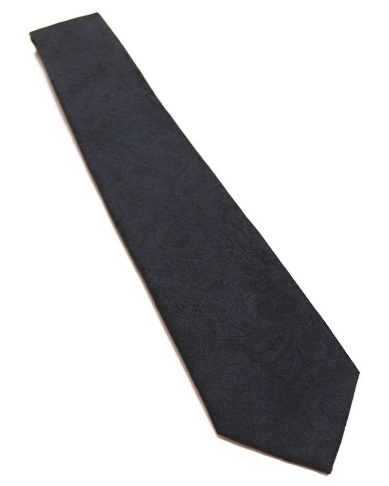 F/X Fusion F/X Fusion Black Tonal Paisley Tie